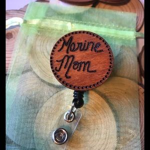 Marine Mom Badge Reel